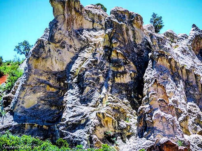 Colorado mountain details Rock - Object Rock Formation Nature Beauty In Nature Geology Scenics Landscape Day Physical Geography No People Outdoors Mountain Travel Destinations Tranquility Hiking Sky Low Angle View Tree Clear Sky Tree Trunk Wallpaper