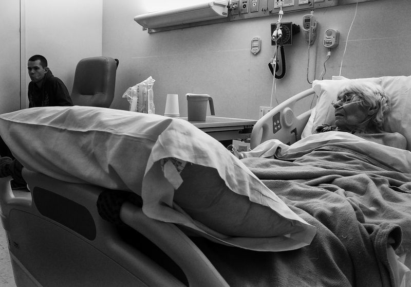 Adults Only B&w Blackandwhite Family Hospital Indoors  Sadness Sickness