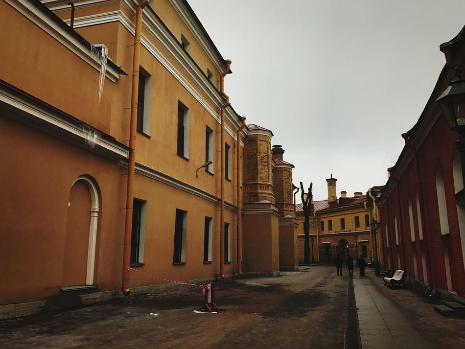 St. PETERSBURG Russia Peter-Pavel's Fortress History Architecture