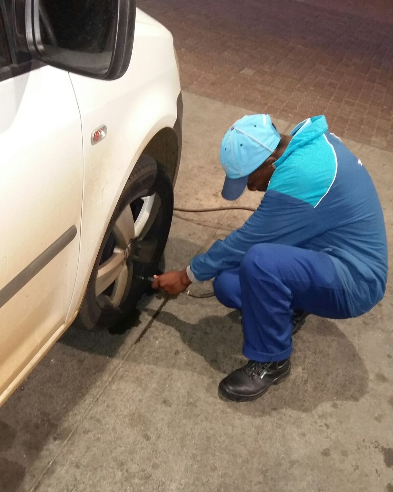 Doing Work Checking The Tyres Important Job Vehicle Maintenance Maintenance Tyre Check Tyre Tyres Showcase: February