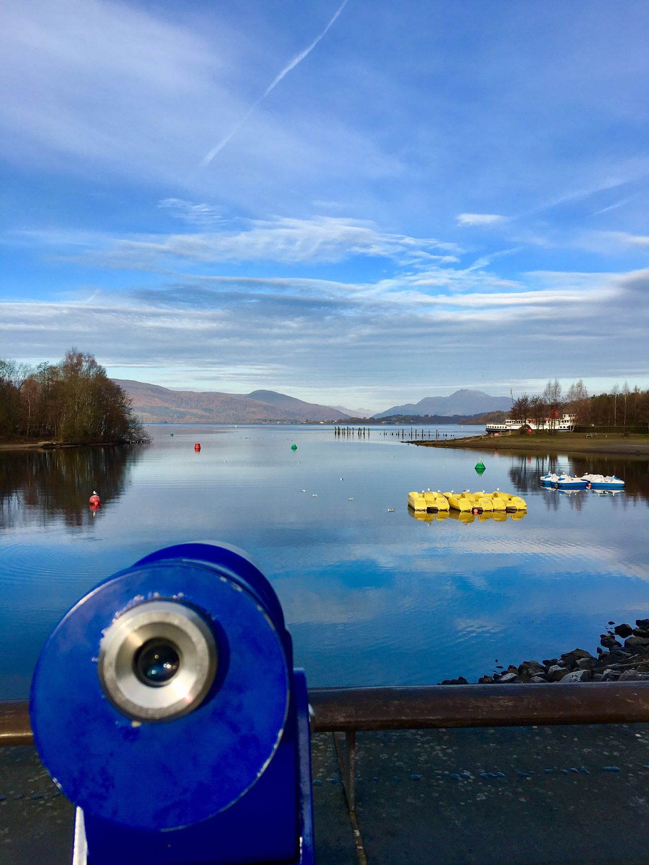 Loch Lomond Scotland Scottish Highlands LochLomond Loch  Ice Water Sky Scenics Nature Lake Beauty In Nature Reflection Tranquility Nautical Vessel Day Outdoors Cloud - Sky Tranquil Scene Tree No People