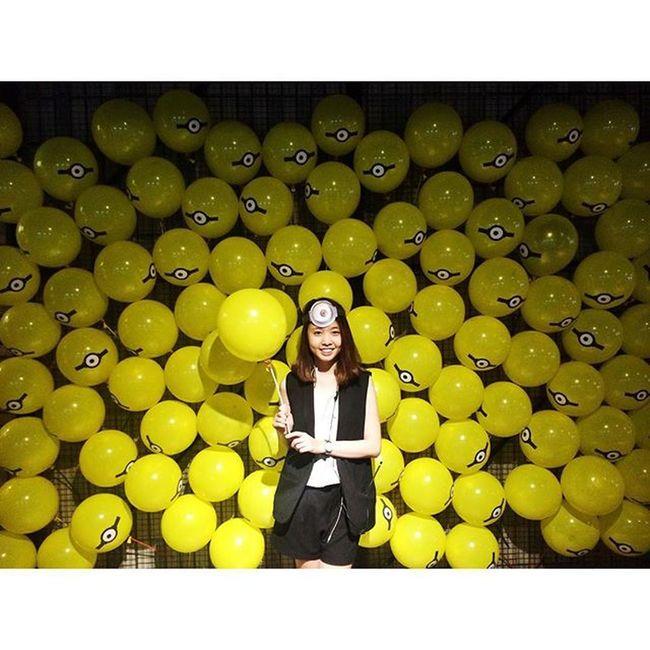 Minions Yellow Film Premiere Banana Ootd Picoftheday Vscocam Azn