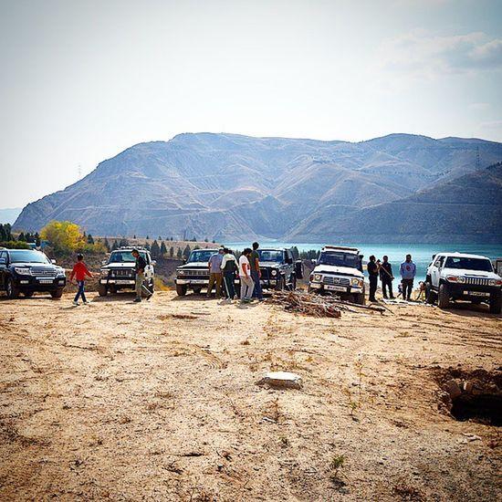 Iran Offroad Dam Latian Lavasoon Patrol  Nissan Toyota FJ Saffari