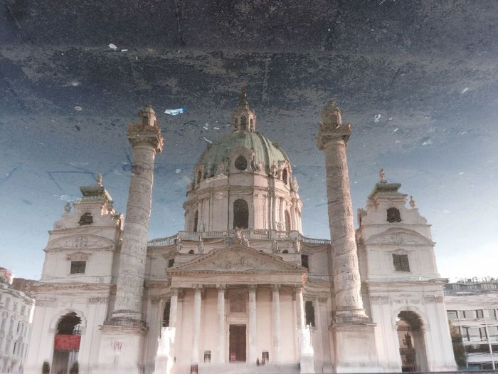 The Architect - 2014 EyeEm Awards no Photoshop Water Reflections Morning Karlmichael