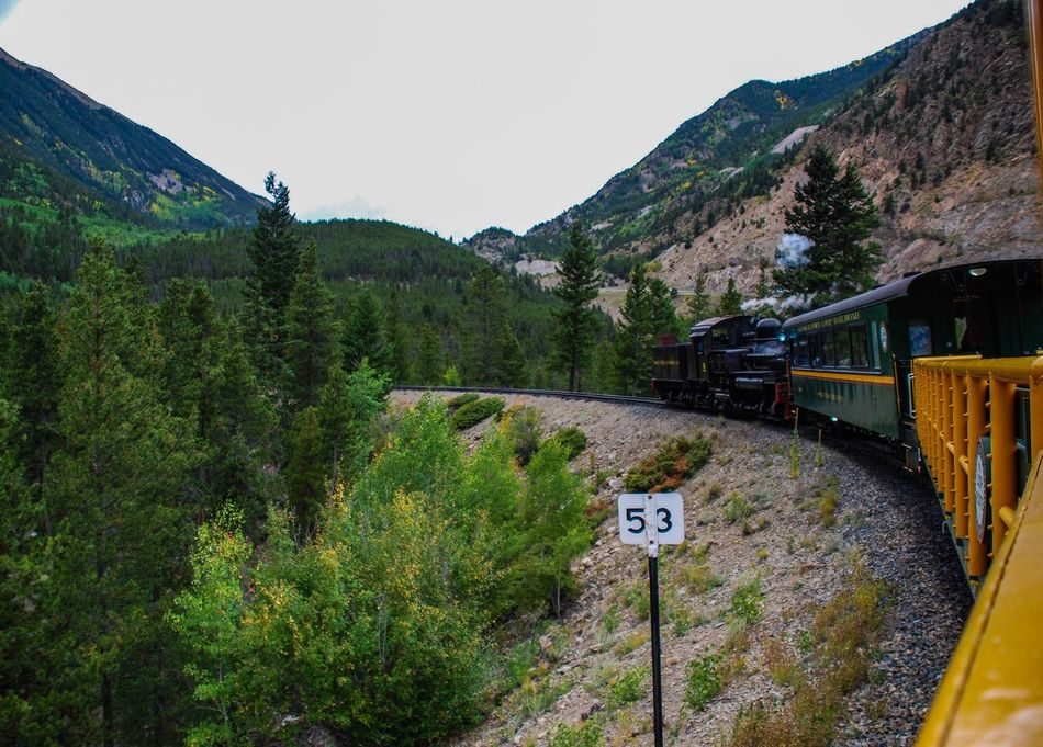 Ridin the peace train... Mountain Enjoying The Journey Train Mountain Range Enjoying Life Beauty In Nature EyeEm Nature Lover Colorado Georgetown, CO Georgetown Loop