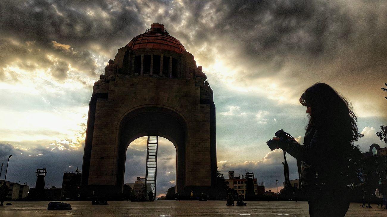Ironía Monunent Revolucion Cdmx CDMX ❤ Mextures Mexicocity  Mexico City Mextagram Cloud - Sky Architecture Travel Destinations Sunset Dome Sky City People Camera Photography Photooftheday Photographer Moment VSCO Vscocam Vscoonly Love♡