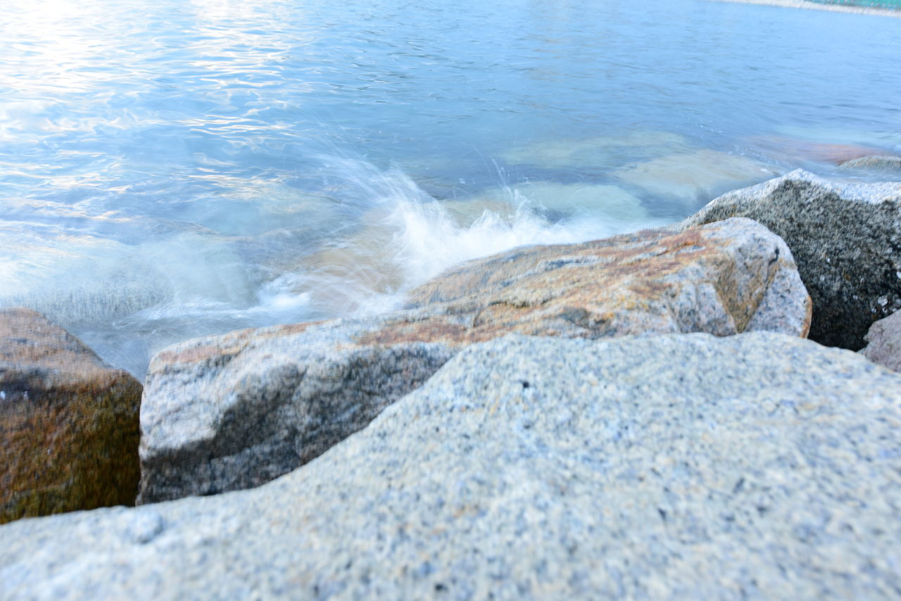 water, nature, rock - object, sea, day, no people, outdoors, tranquility, beauty in nature, beach, scenics, wave, close-up