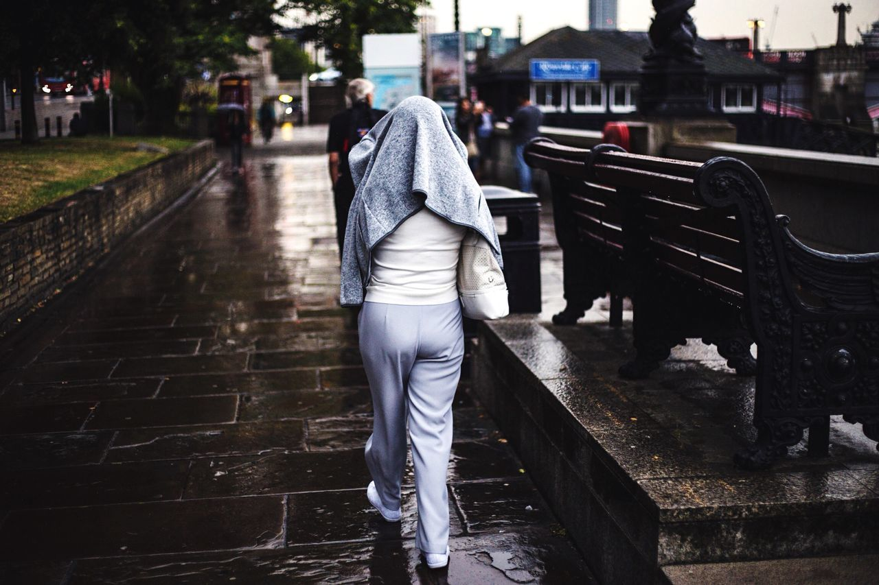 Beautiful stock photos of london, Bench, Casual Clothing, Day, Focus On Foreground