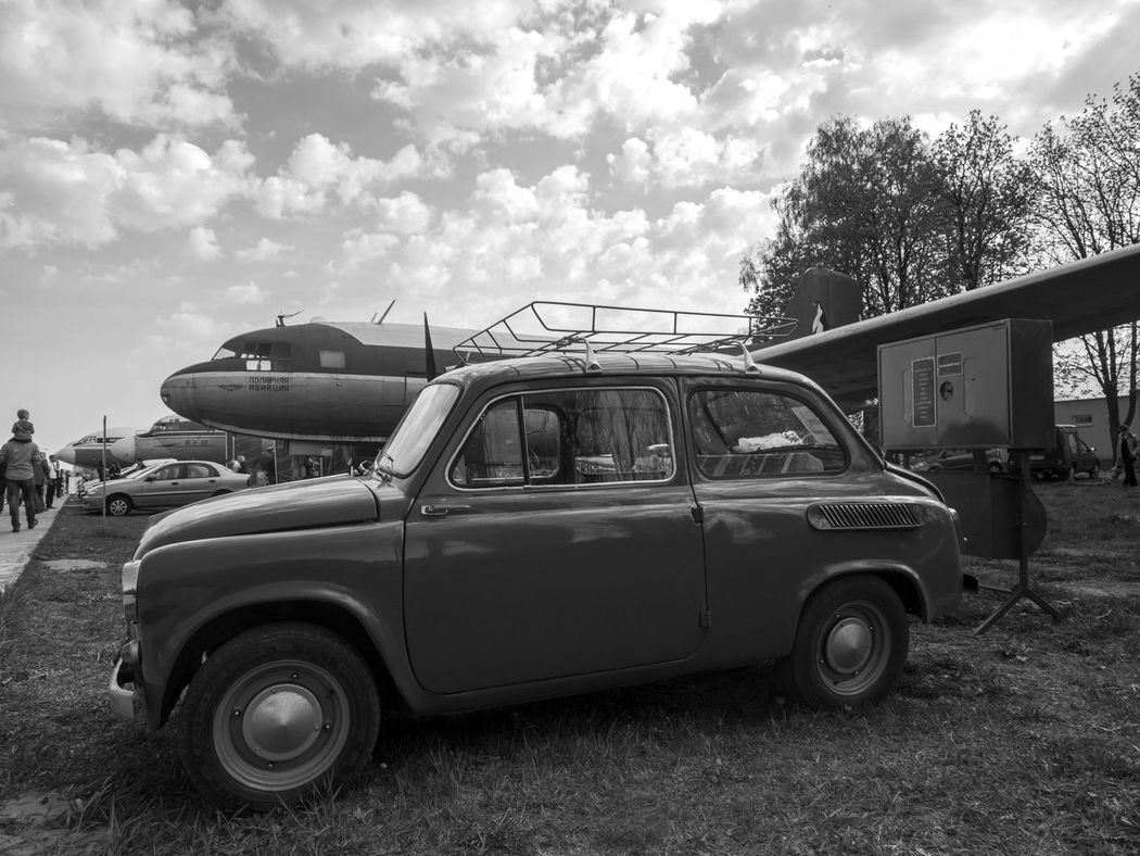 "Old car fest. Car ""Zaporozhets"" ZAZ-965 Antique Black And White Car Day Exebithion Fest Front View Land Vehicle Mode Of Transport Monochrome Old Old-fashioned Parked Parking Retro Road Roadside Side View Stationary Street Transportation Vintage Vintage Car Zaporozhets ZAZ-965"