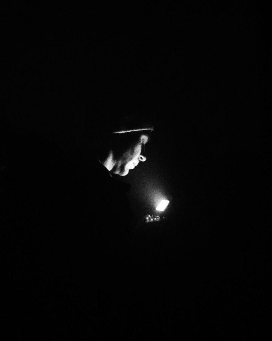 Dark Black Background Illuminated Monochrome Bw_collection Black And White