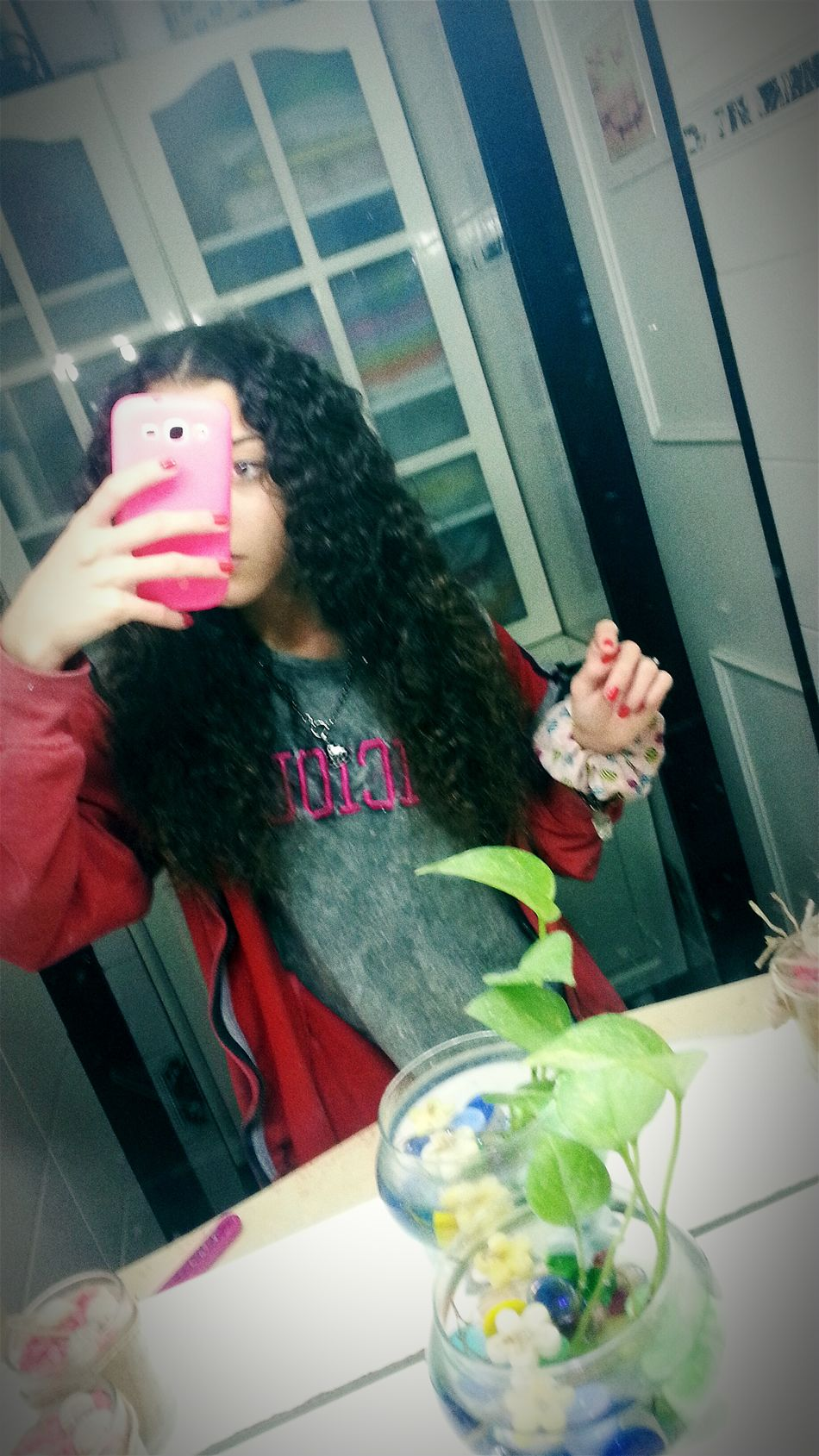 My hair after braids LOL! Crazy Hair Stupid Girl That's Me