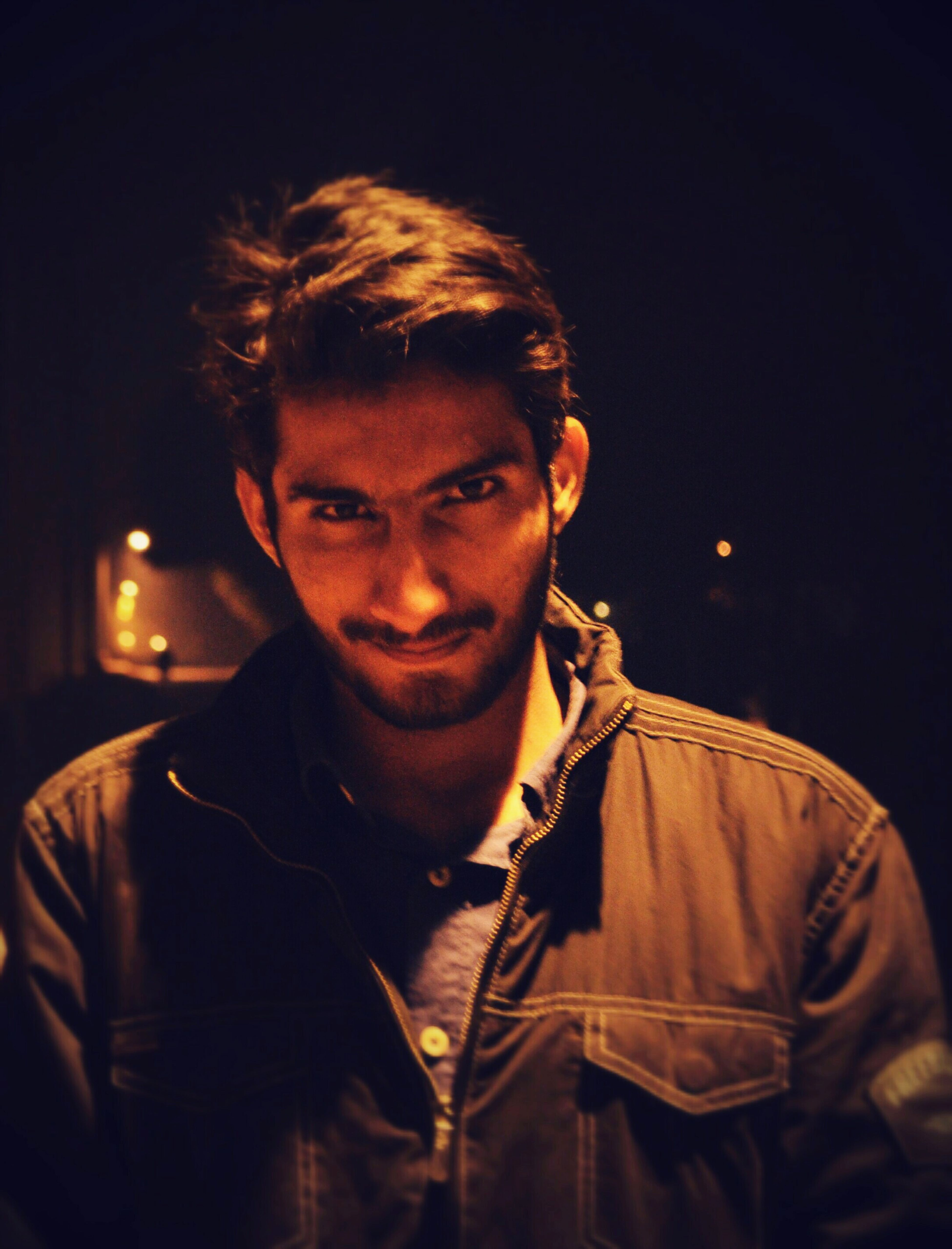 Evening :-) Dark Pose Trying To Scare :P