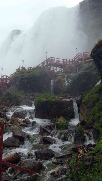 Water Bridge - Man Made Structure Flowing Water Beauty In Nature Waterfalls Niagara Falls Cave Of The Winds