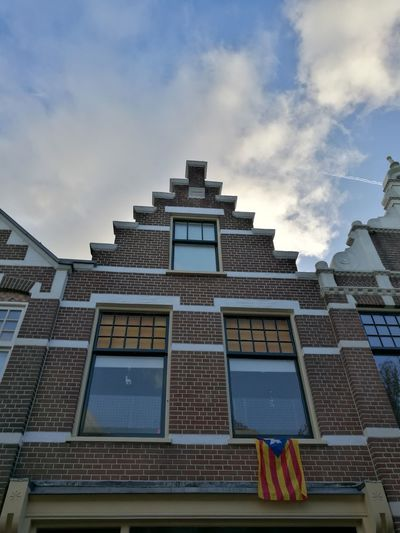 Architecture Built Structure Building Exterior No People Day Outdoors City Sky Catalunya Lliure Free Catalonia Alkmaar October
