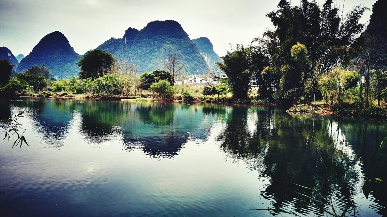 Yangshuo Travel Photography Naturelover Natural Beauty Naturelovers Spring Is Coming  Guangxi Province Lijiang_yangshuo_china