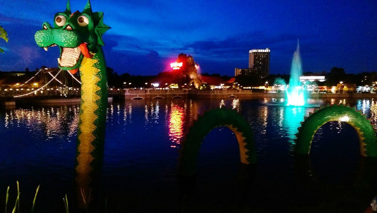 Cityscapes Downtown Disney Dragon LEGO