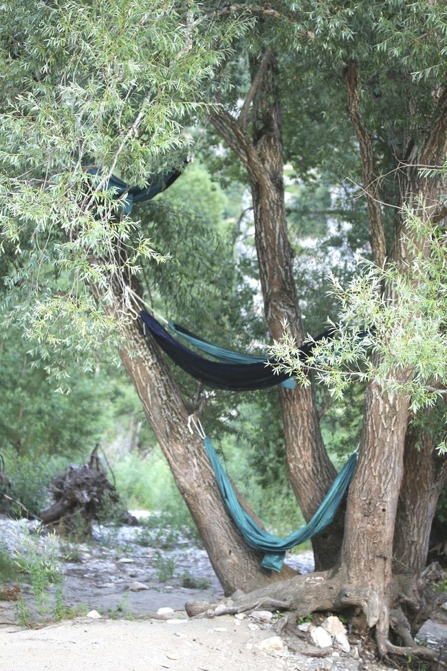 Hängematte Hängematten Relaxing France Gorges Du Verdon Edge Of The World