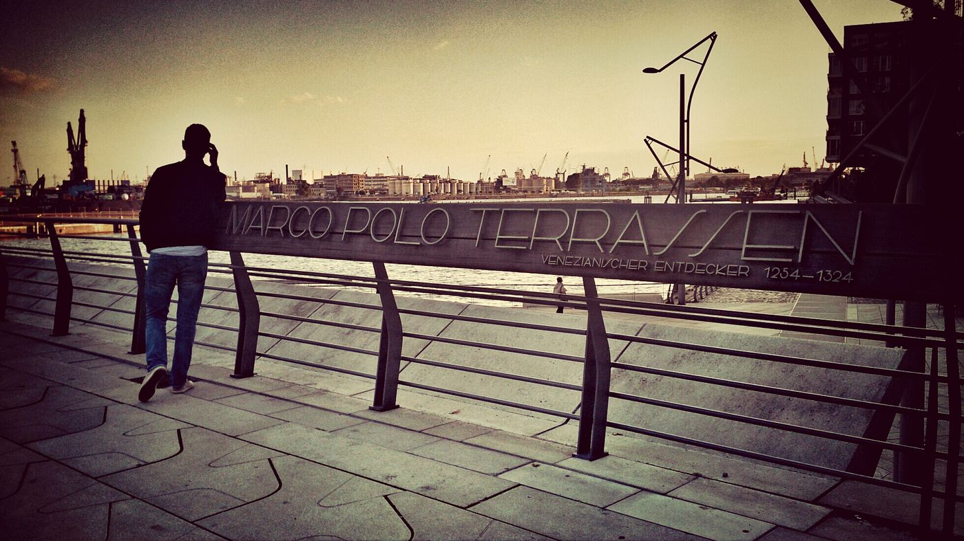 Hafen City :) Getting Inspired Relaxing