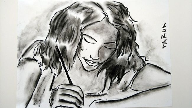 Bunch Of Magical Thoughts Portrait My Artwork Simply Human Drawing