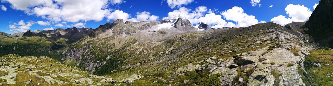 mountain, nature, sky, beauty in nature, cloud - sky, day, landscape, scenics, outdoors, no people