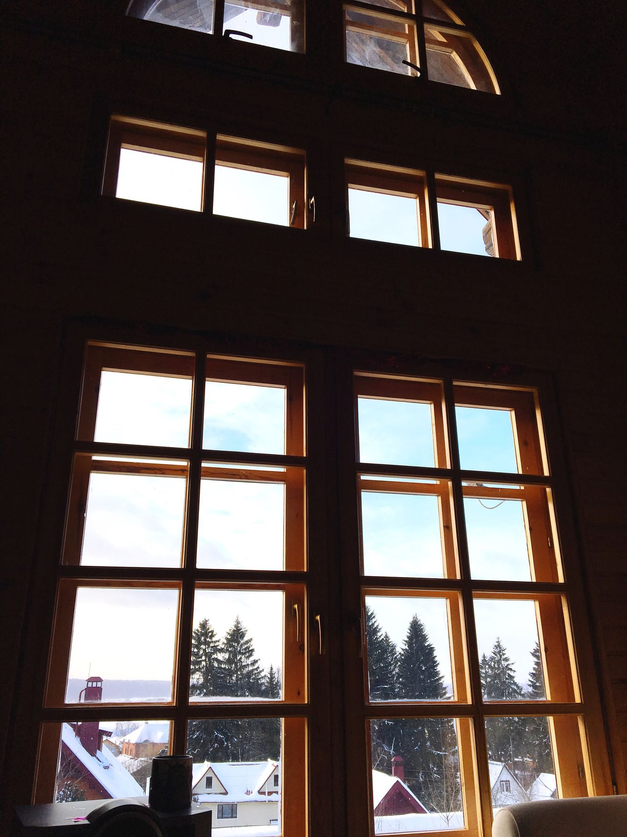 Window Indoors  No People Day Low Angle View Architecture Cold Winter ❄⛄ Atmospheric Mood Russian Winter Warmth Те пло и у ю т
