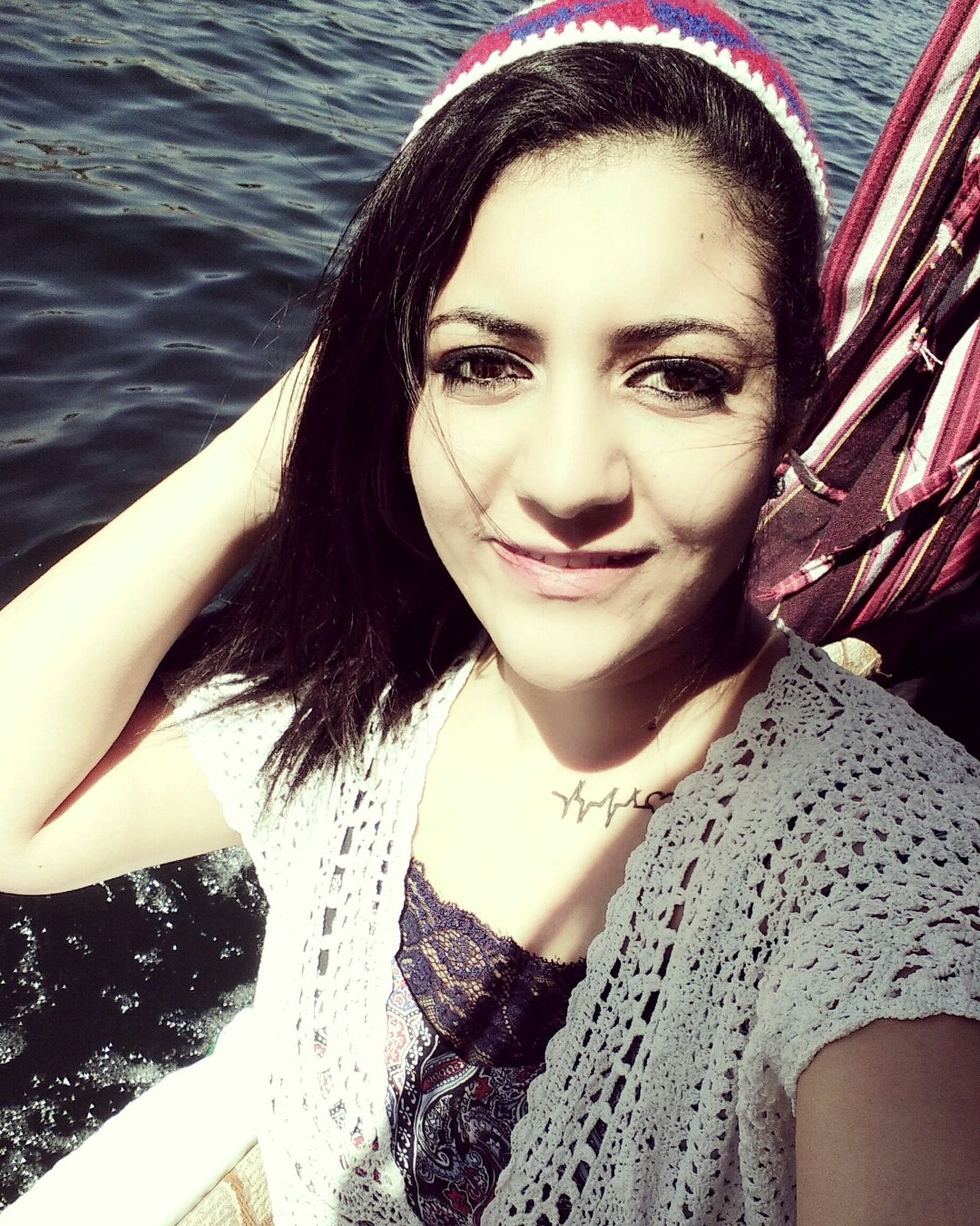 That's Me Aswan, Egypt Real People :) Smile NileRiver Tattoo Love Egypt Selfie ✌ Enjoying Life Enjoying The Sun