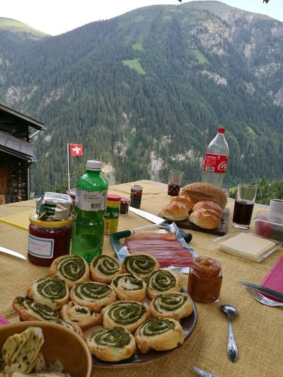 Food And Drink Outdoors Mountain Nature Freshness Homemade Food Lifestyles