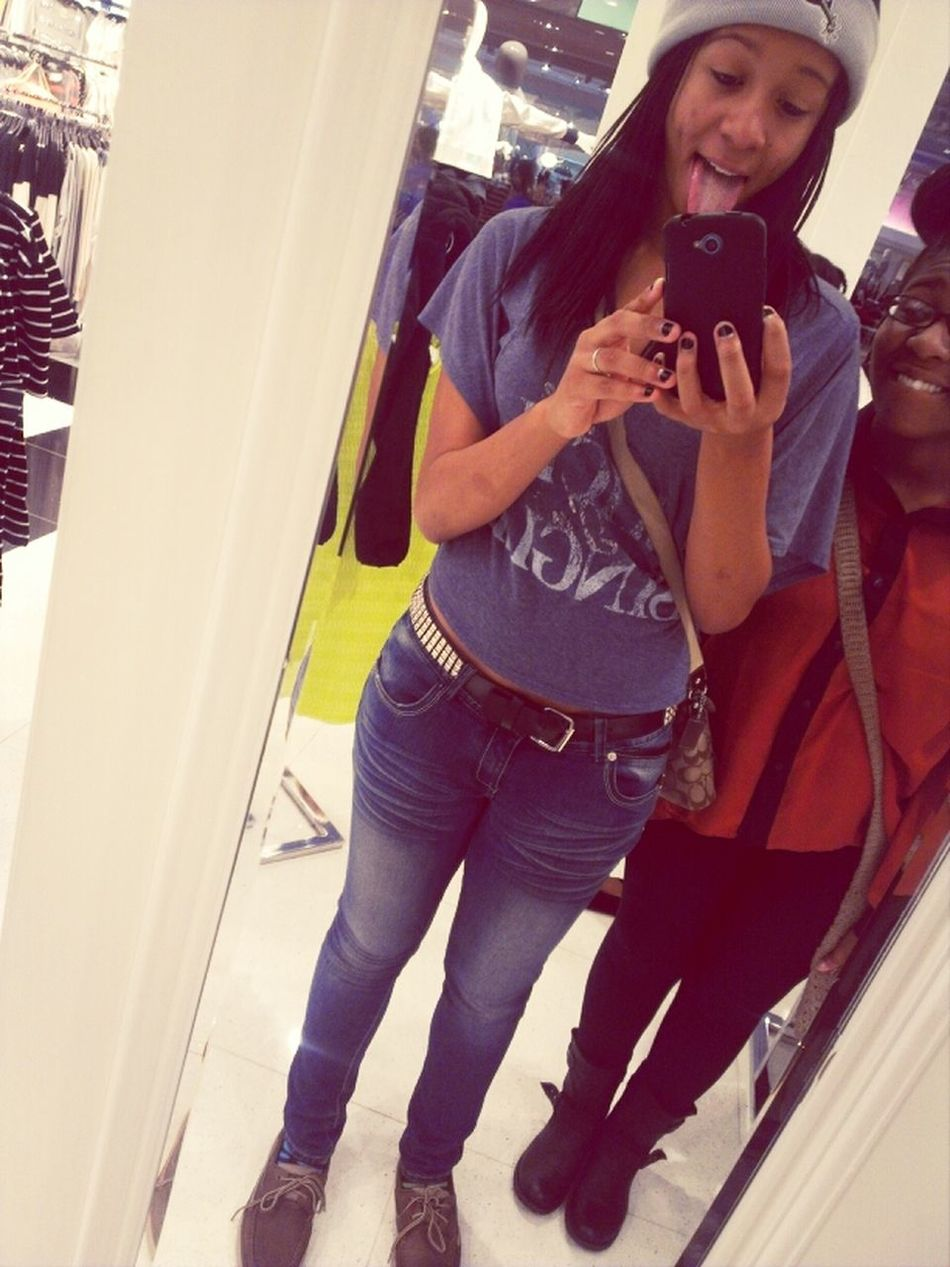 Mall With My Bby. <3