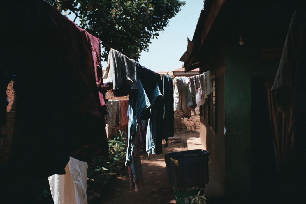 Chores Clothes Clothesline Clothing Day Drying Hanging Kodak Portra 400 Laundry Leica M6 Material Men One Person Orphanage Outdoors People Real People Summicron 35mm
