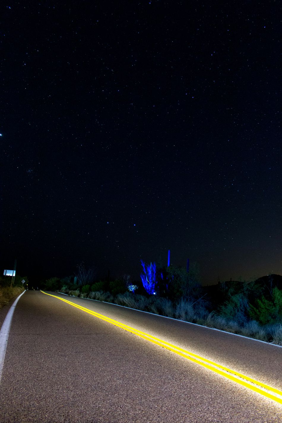 Langzeitbelichtung Photography Long Exposure Road Abstract Stars Landscape Nightphotography Night Escaping