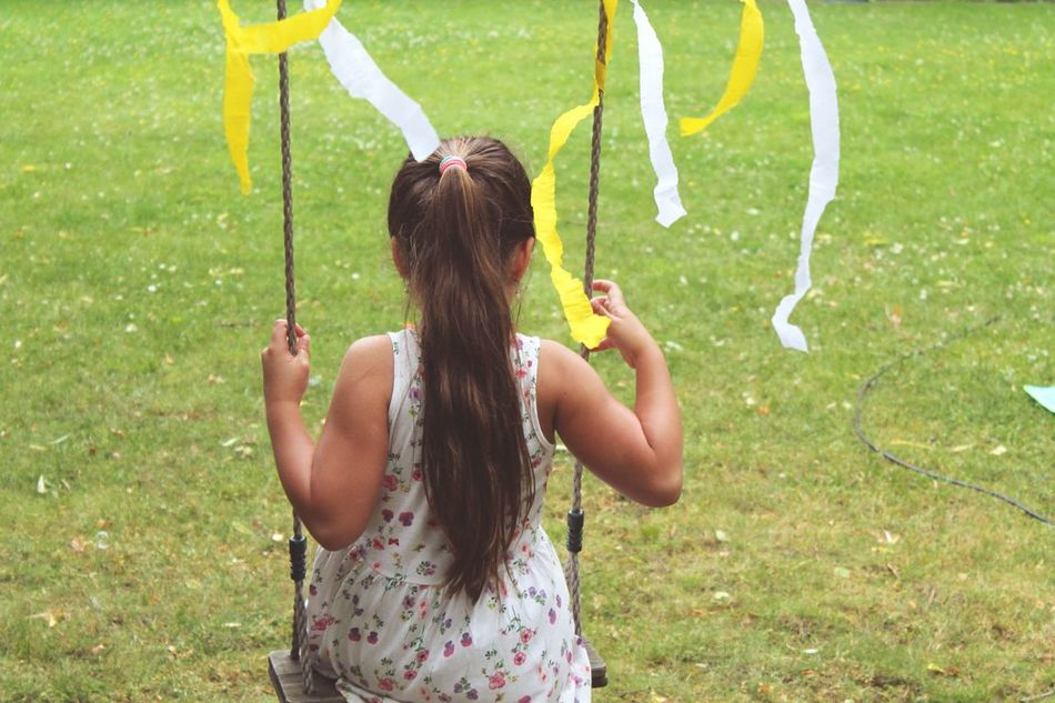 The Moment - 2015 EyeEm Awards Happiness Faces Of Summer Beautiful Day Little Girl Enjoying Life Let's Swing Tree Swing Having Fun Enjoying The Sun