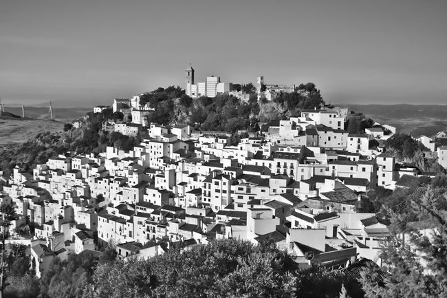 Architecture Black And White Landscape Black And White Scenery Building Exterior Built Structure Casares Casares Black And White Casares Old Town Casares Town Spain City Cityscape Community Elevated View Hill Human Settlement Landscape Residential Building Residential District Residential Structure Town TOWNSCAPE White Wall Town White Walls