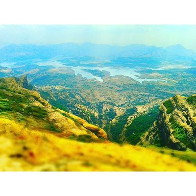 The Tougher the Climb The Better the View Nashik Nasik Landscape Mountain peak nashikgram lake beautiful Heat climb trek devlali deolali maharashtra india