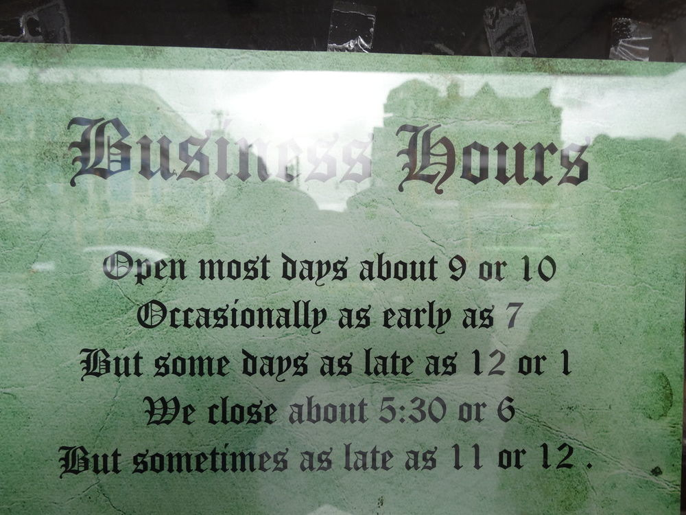 Business Business Hours Close-up Funny Shop Shopping Text