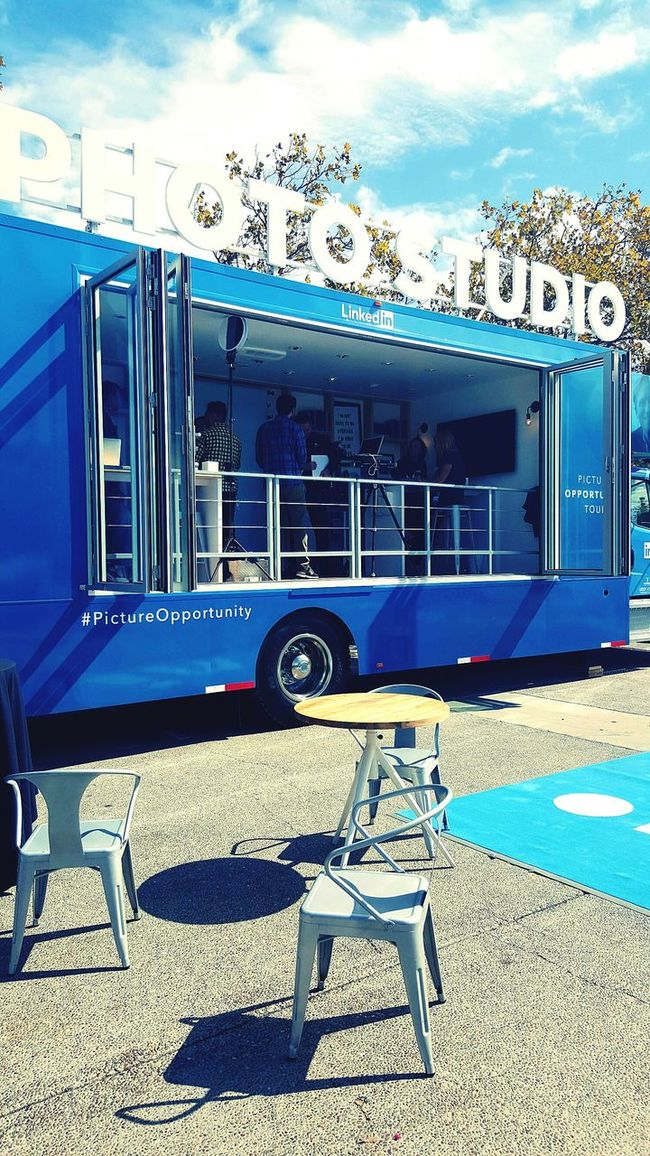 The wheels on the bus LinkedIn Silicon Valley Day Taking Photos Photo Shoot Inline Next Cheese Clouds Outdoors