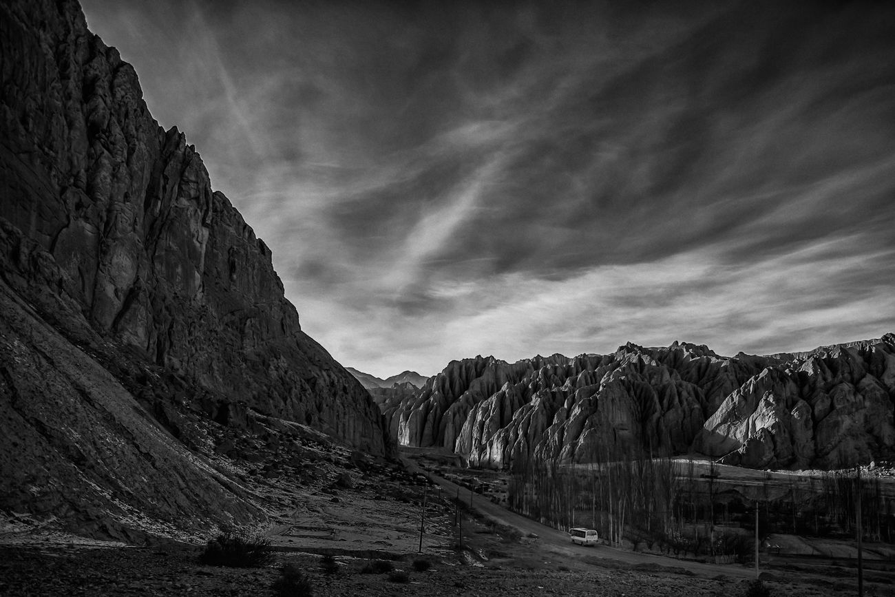A drive into the dramatic... Mountains Blackandwhite Blackandwhite Photography Centralasia Silkroad Dramatic Drama Light And Shadow Landscape Scenics