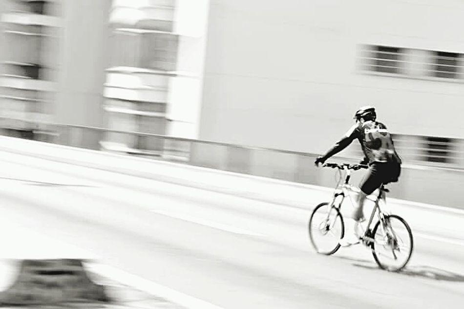 Cycling Bicycle Street Life Black & White Sreetphotographer Transportation City 3XSPUnity