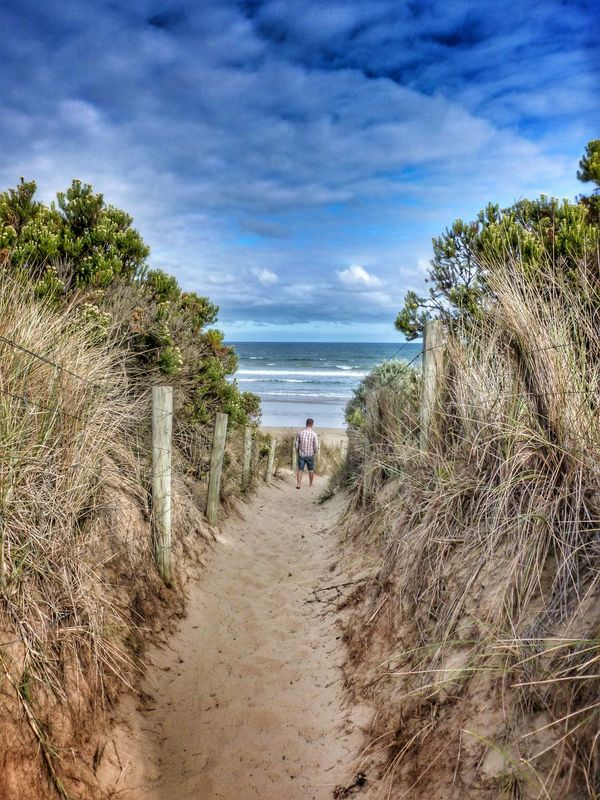 Point Impossible beach, Torquay, Victoria, Australia Share Your Adventure Arid Climate Australian Landscape Beach Scenery Beautiful Sky And Sea Beauty In Nature Exploring Nature Geology Grass Growth Landscape Nature Outdoors Point Impossible Remote Rural Scene Sand Dunes Scenics Solitude Surf Coast Tranquil Scene Tranquility EyeEm Best Shots Victoria, Australia Landscape_Collection