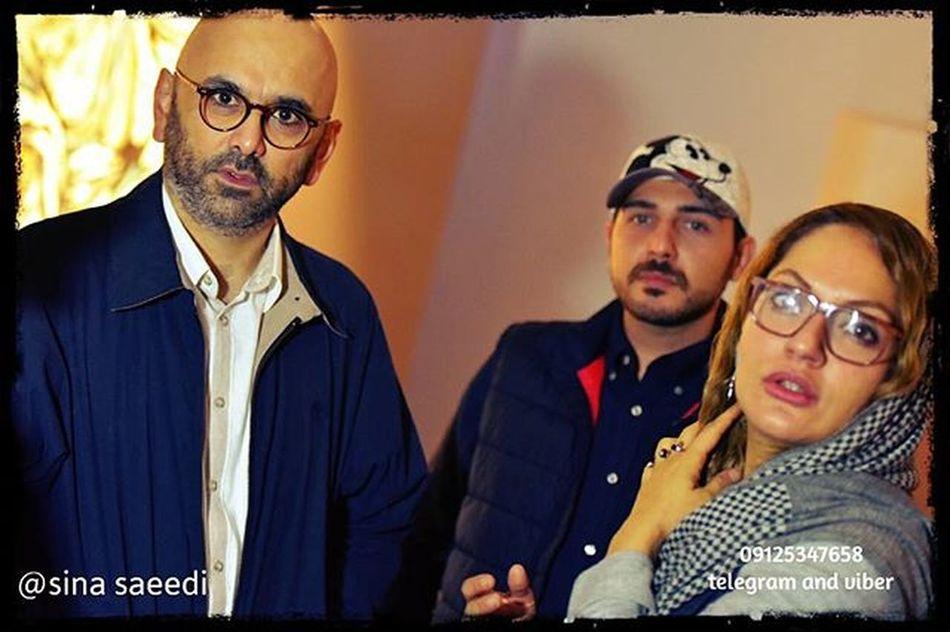 مهناز افشار و حبیب رضایی در نمایشگاه سحر خلخالیان گالری شیرین @saharchel @sogolsogol