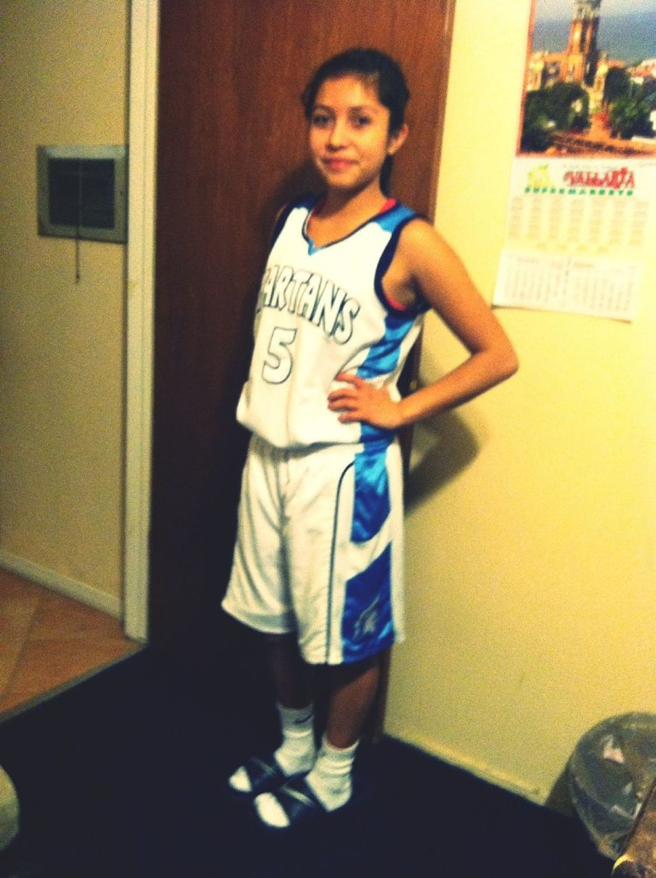 After My Basketball Game Exahusted (: