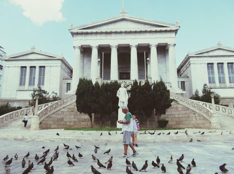 Last summer,nostalgique :-) Grece, Place, Monument