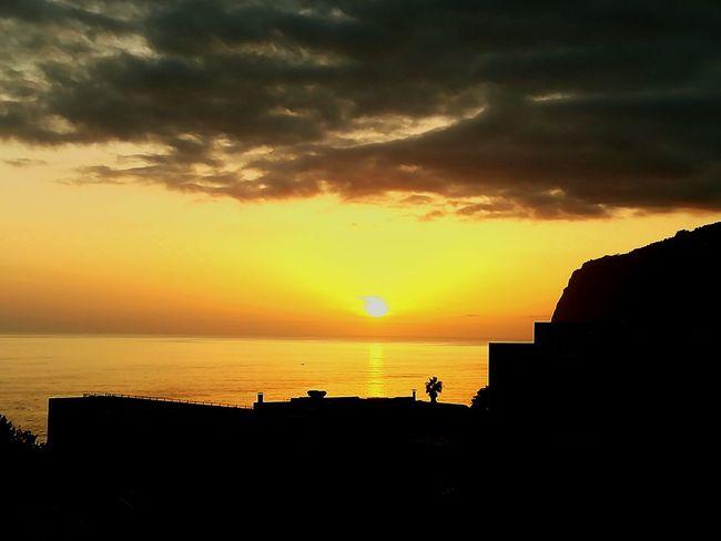 Sun Sunset Sky I Love Madeira Funchal Funchal City Madeira Islands, Portugal