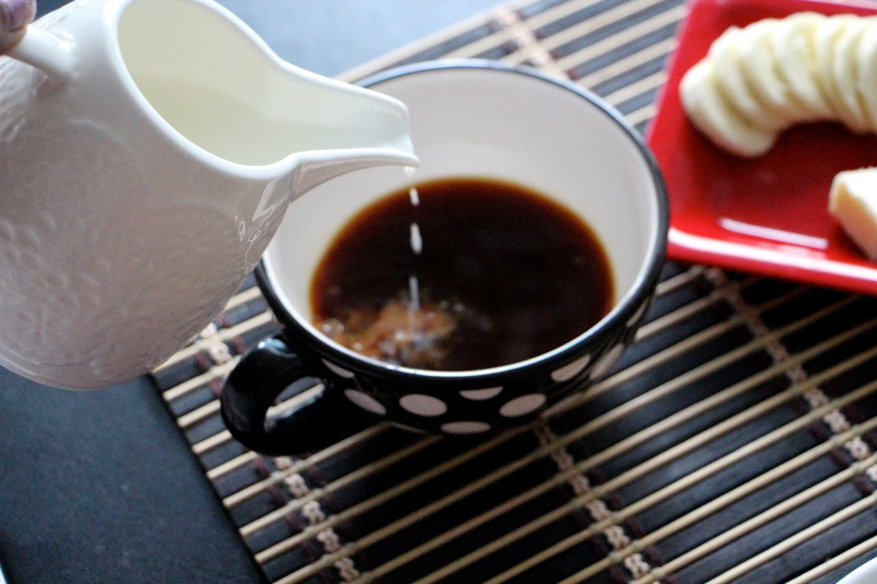 Morning Tea A Cup Of Tea The Foodie - 2015 EyeEm Awards Milk Tea Breakfast Saturday Better Together Rule Of Thirds Coffee And Sweets Food Porn Awards