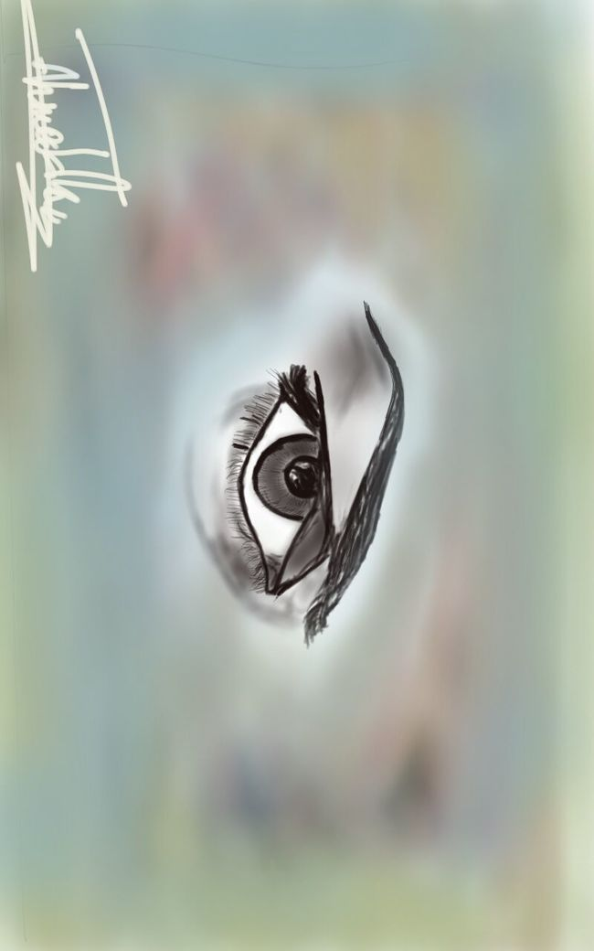 my panit The Eye
