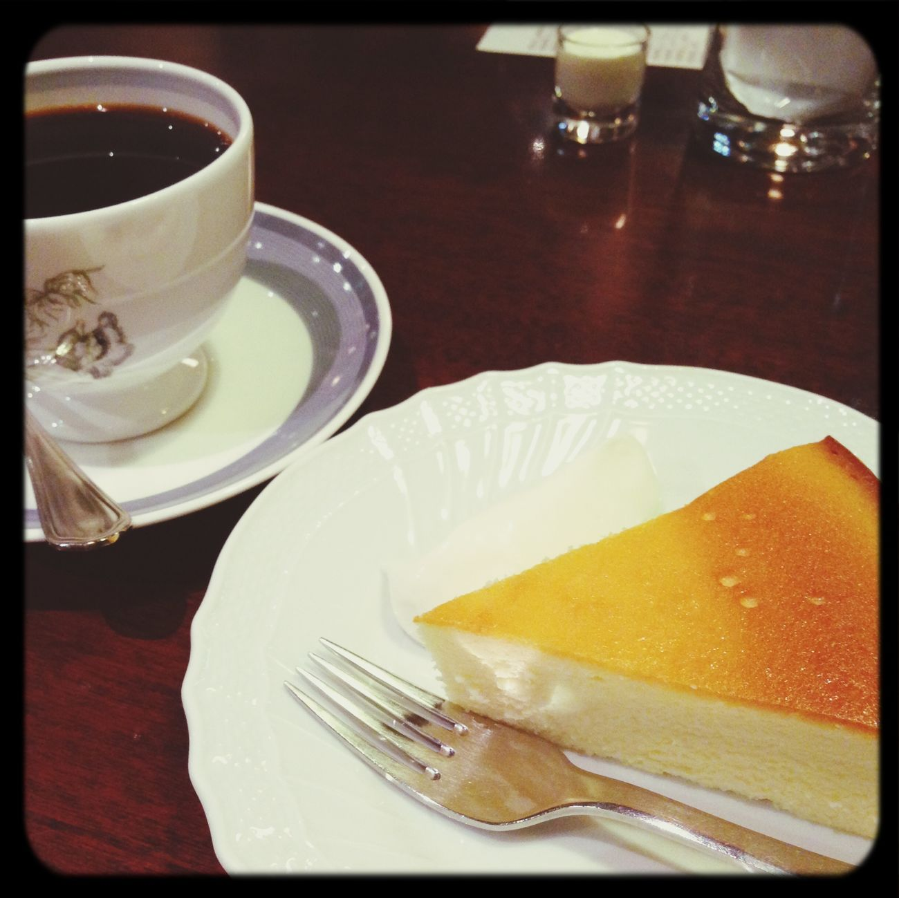 チーズケーキ☆ Coffee Break Chees Cake