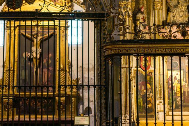 Cathedral Toledo España SPAIN Church Gold Christ