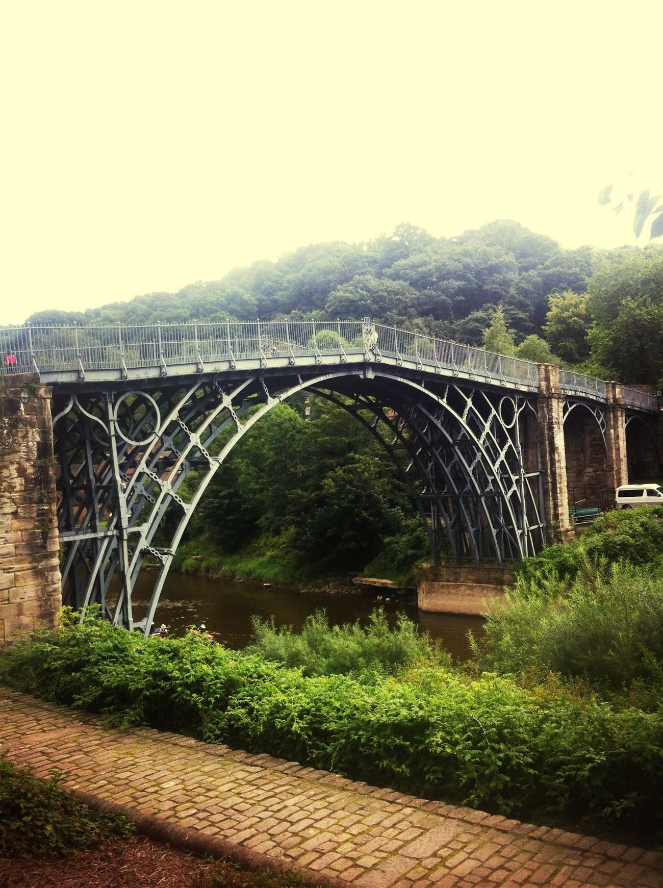Taking Photos Holiday Ironbridge