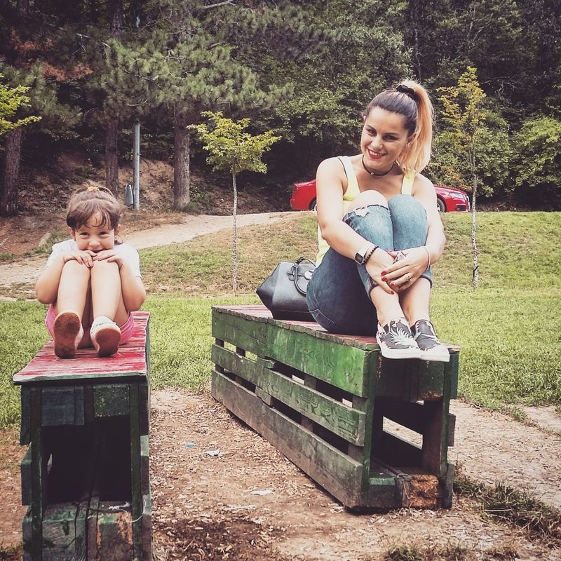 Daughter Enjoying Nature Together Forever <3 Just Smile  Lovelovelove