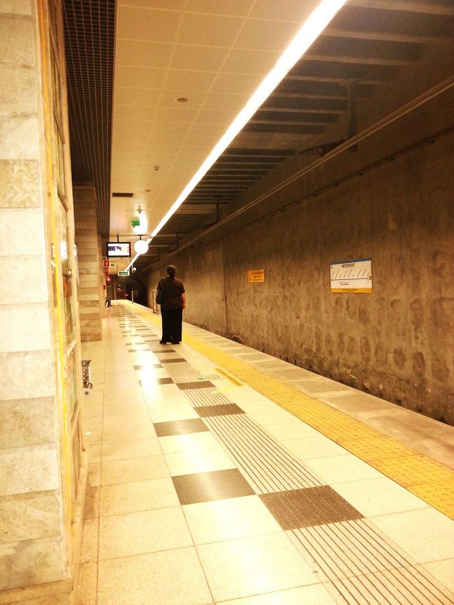 Subwayphotography A Lone Traveller