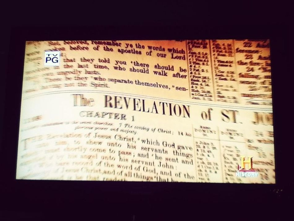 Watching 7signs Of The Appocolypse:o